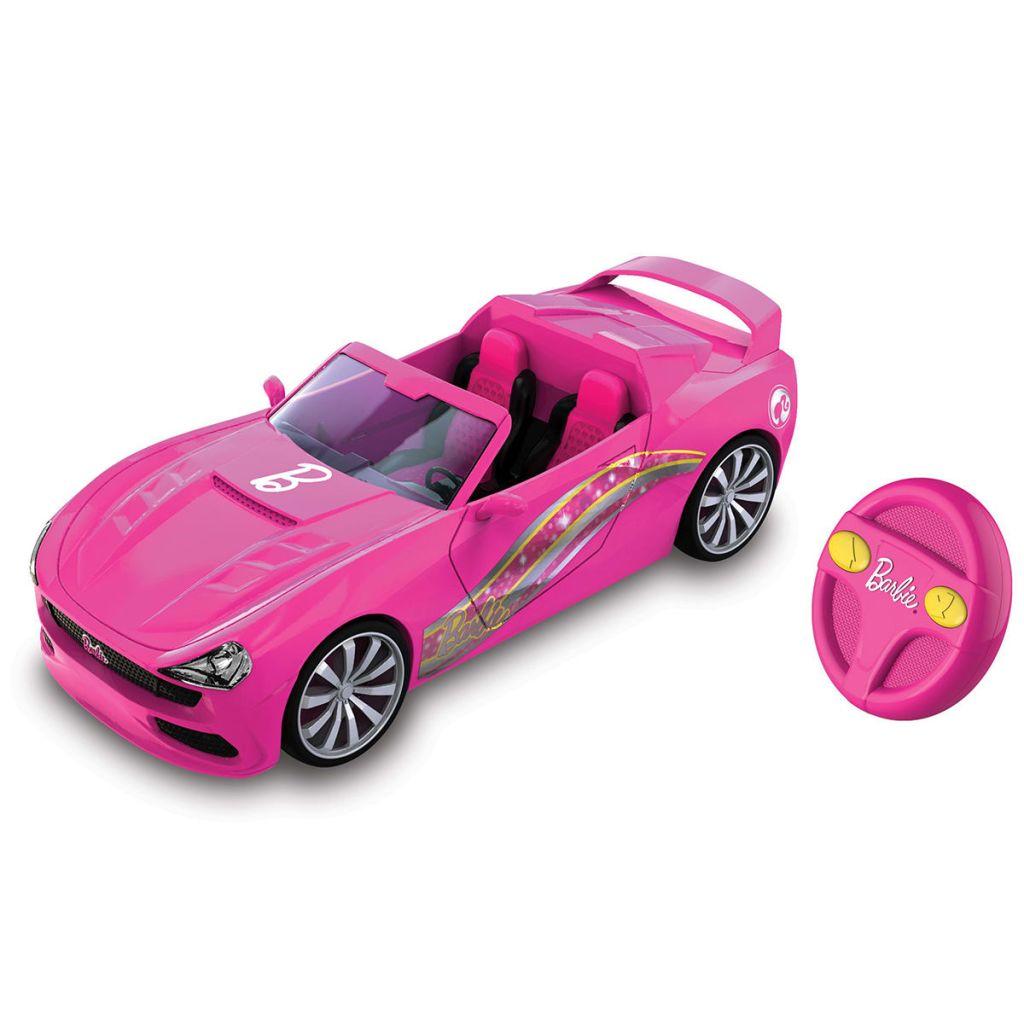 Nikko autíčko na diaľkové ovládanie Barbie Kabriolet