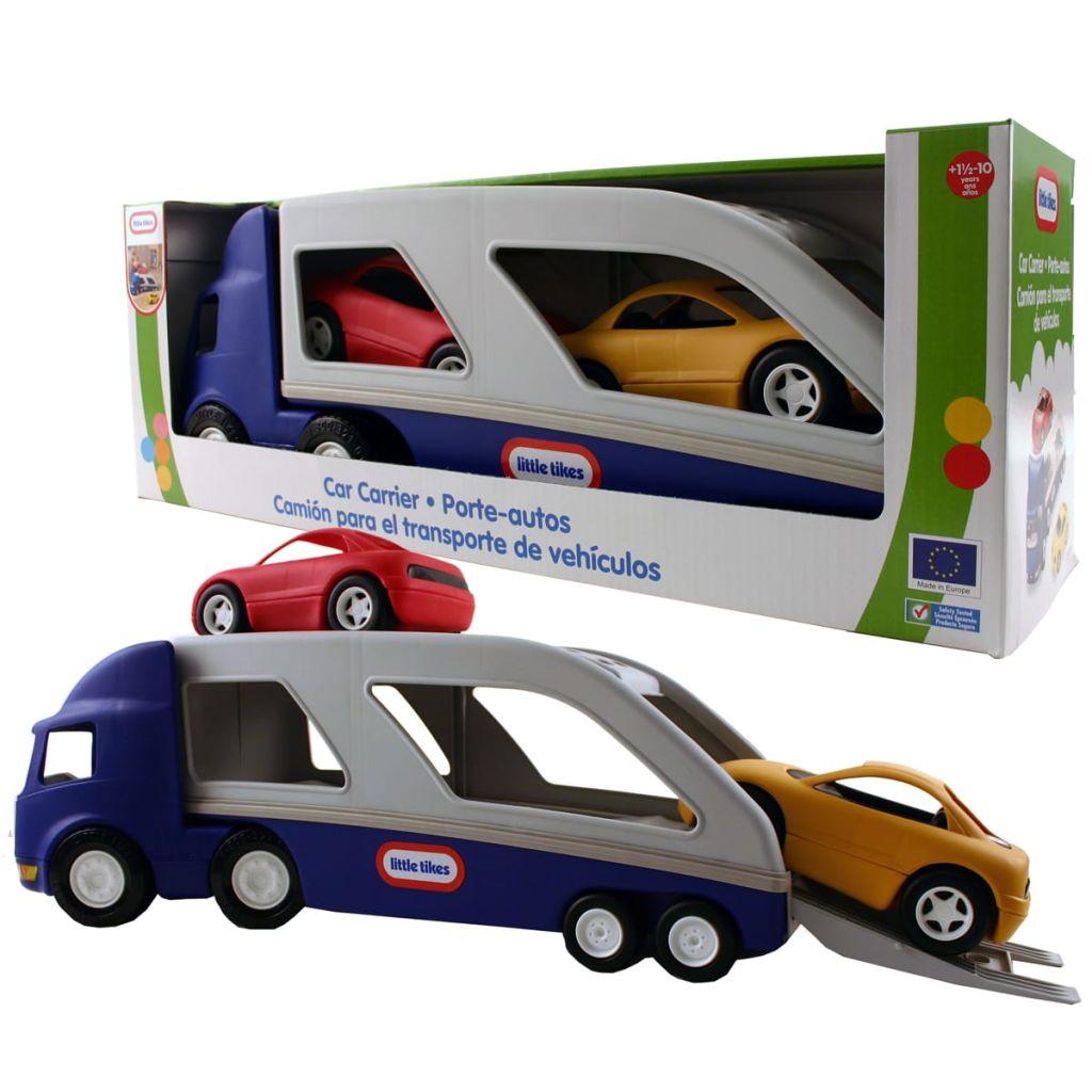 Veľké detské nákladné vozidlo na prepravu áut Little Tikes