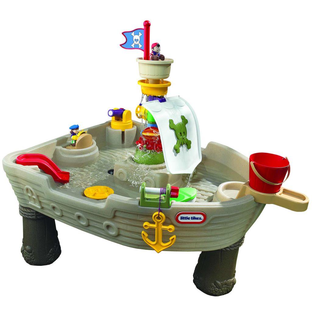 Vodný stôl pirátska loď Little Tikes