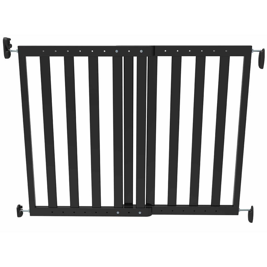 Noma Rozťahovacia bezpečnostná zábrana, 63,5-106 cm, drevená, čierna, 93743