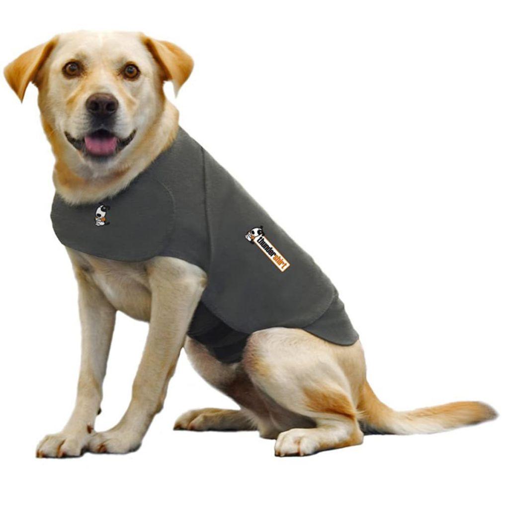 ThunderShirt Protistresová vesta pre psa, XL, sivá, 2018