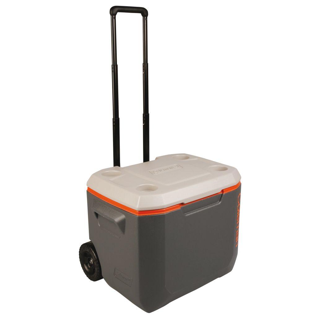 Coleman Prenosná chladnička 50 QT Wheeled Xtreme Cooler, sivá, 47 l, 8912598