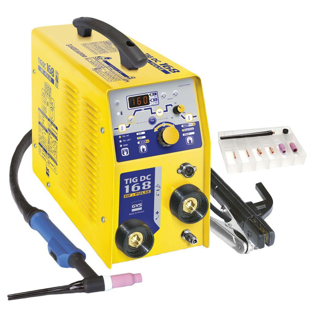 GYS Zvárací invertor TIG 168 DC HF 10-160 A