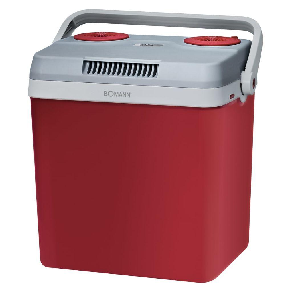 Chladiaci box, červený, Bomann KB 9487 CB 30 L