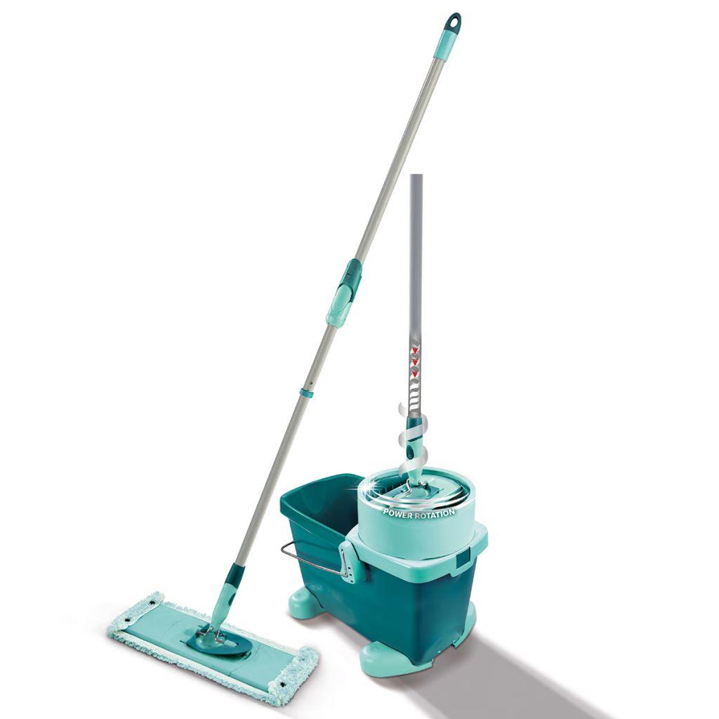Leifheit Sada na čistenie podlahy Clean Twist, M, zelená, 52050