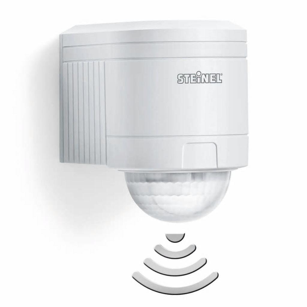 Infračervený biely detektor pohybu Steinel IS 240 DUO