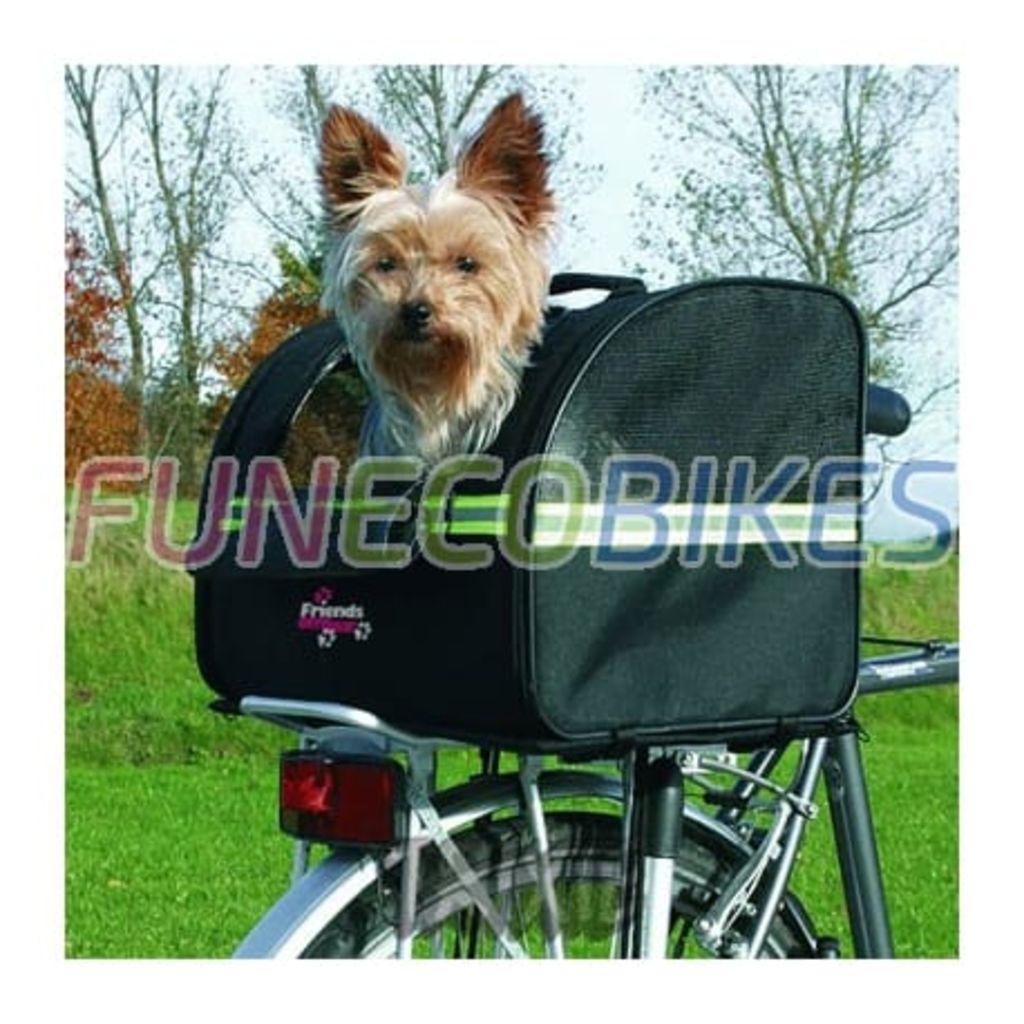 TRIXIE Prepravný box pre psa na bicykel, 35x28x29 cm, čierny, 13112
