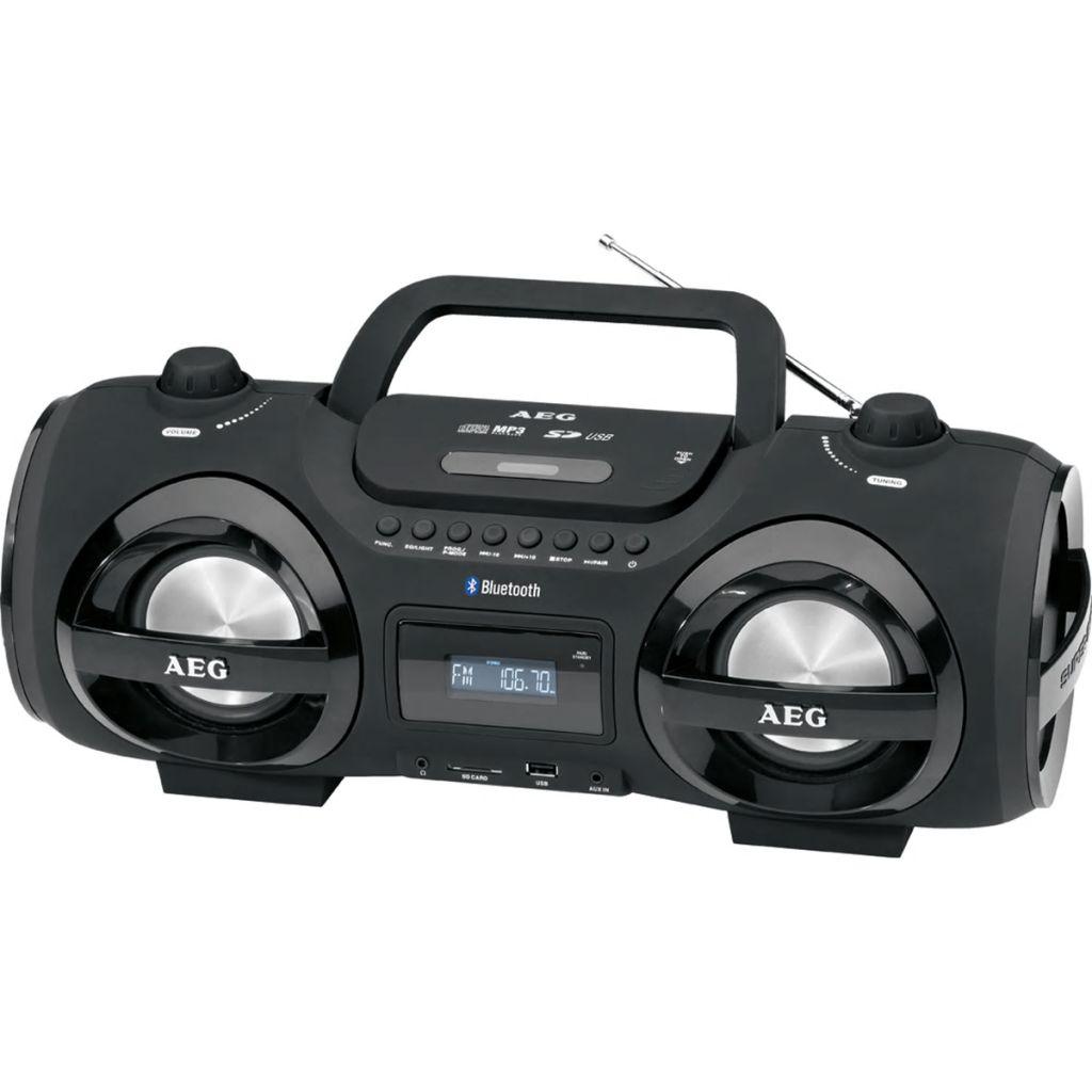 Prenosné stereo rádio AEG SR 4359 BT, čierne