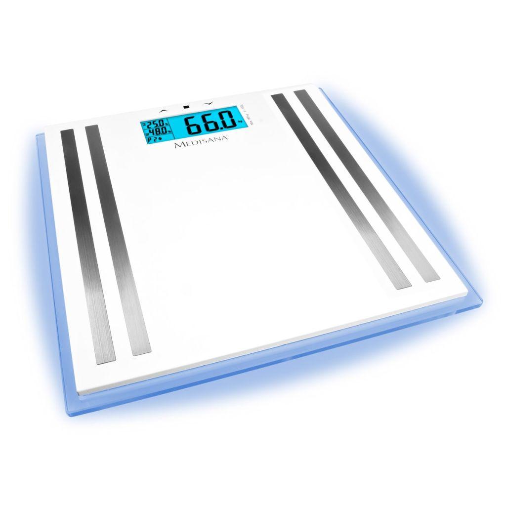 Sklenená váha s analýzou tela Medisana ISA LCD