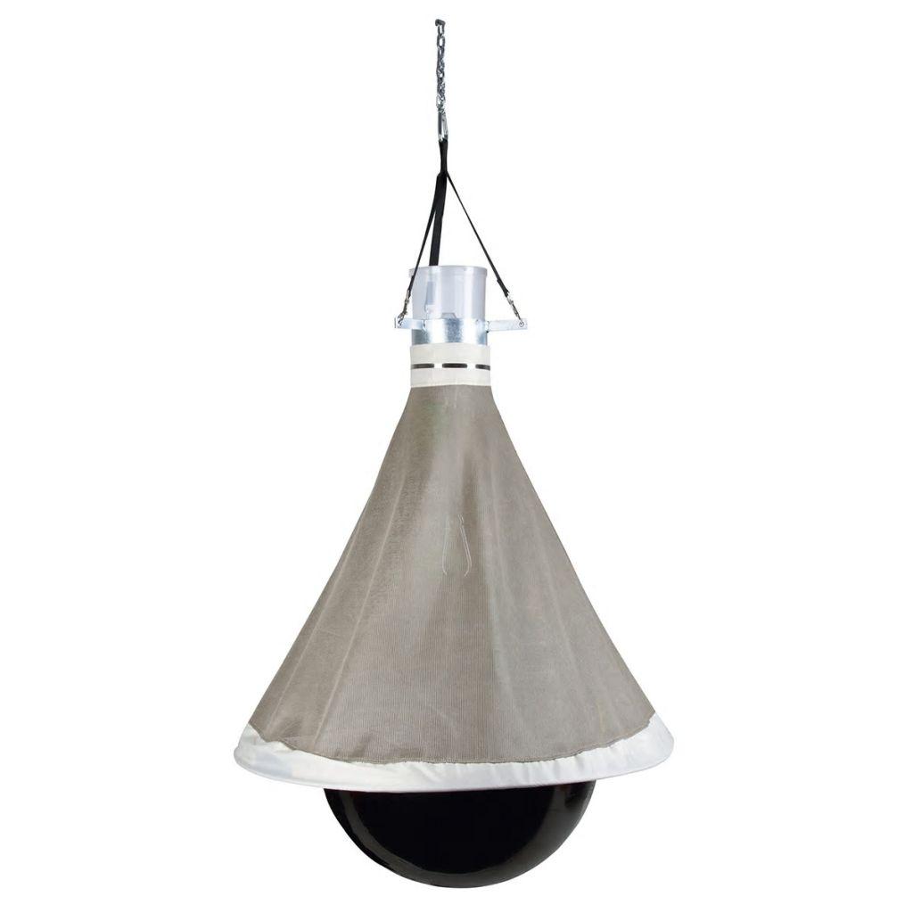 Pasca na ovady Kerbl TaonX, galvanizované železo, bielo-čierna, 323500