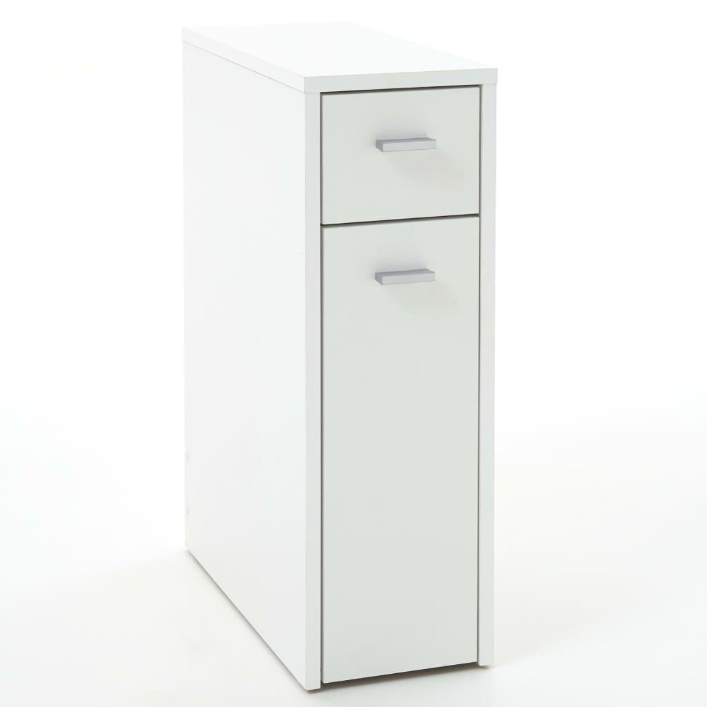 FMD Zásuvková skrinka s 2 zásuvkami 20x45x61 cm biela
