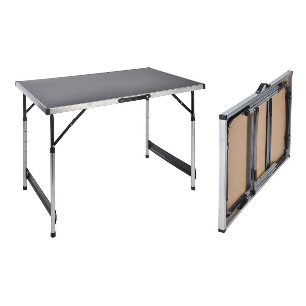 HI Skladací stôl 100x60x94 cm hliníkový
