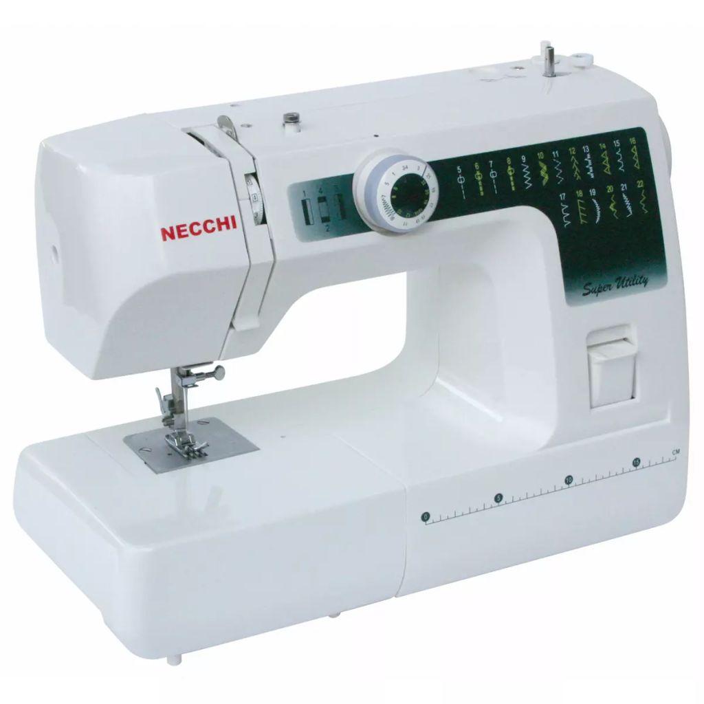 Šijací stroj Necchi SUB22, biely