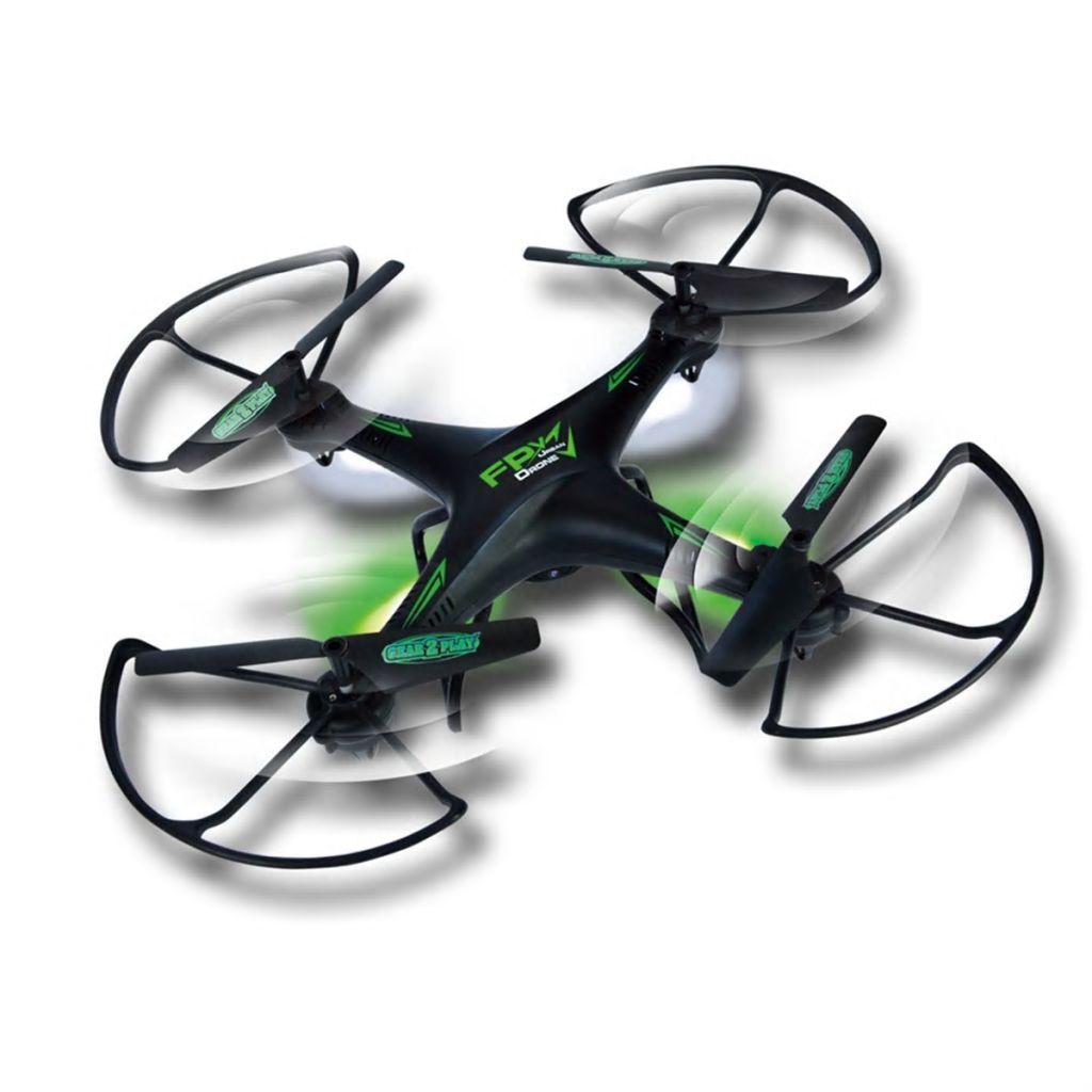 Gear2play Dron s kamerou a 3D VR okuliarmi