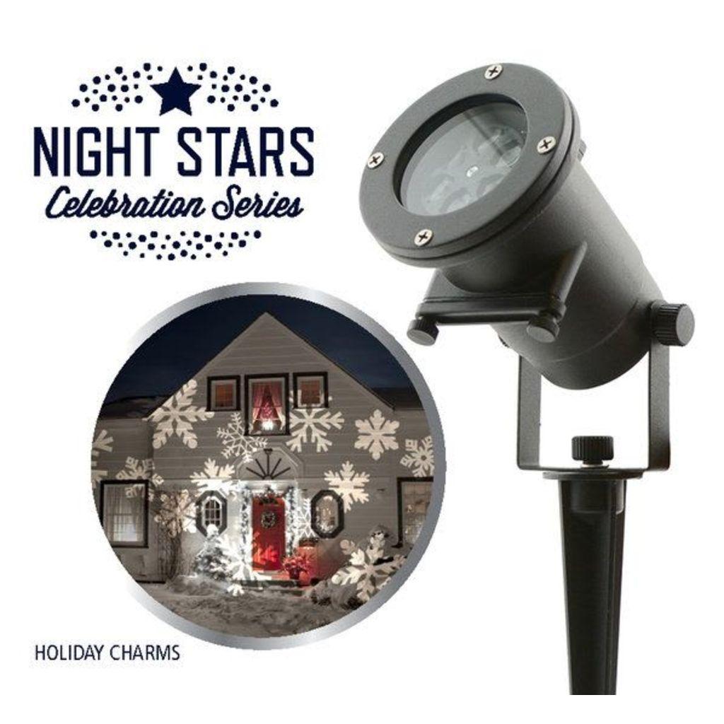 Night Stars Vianočný LED projektor