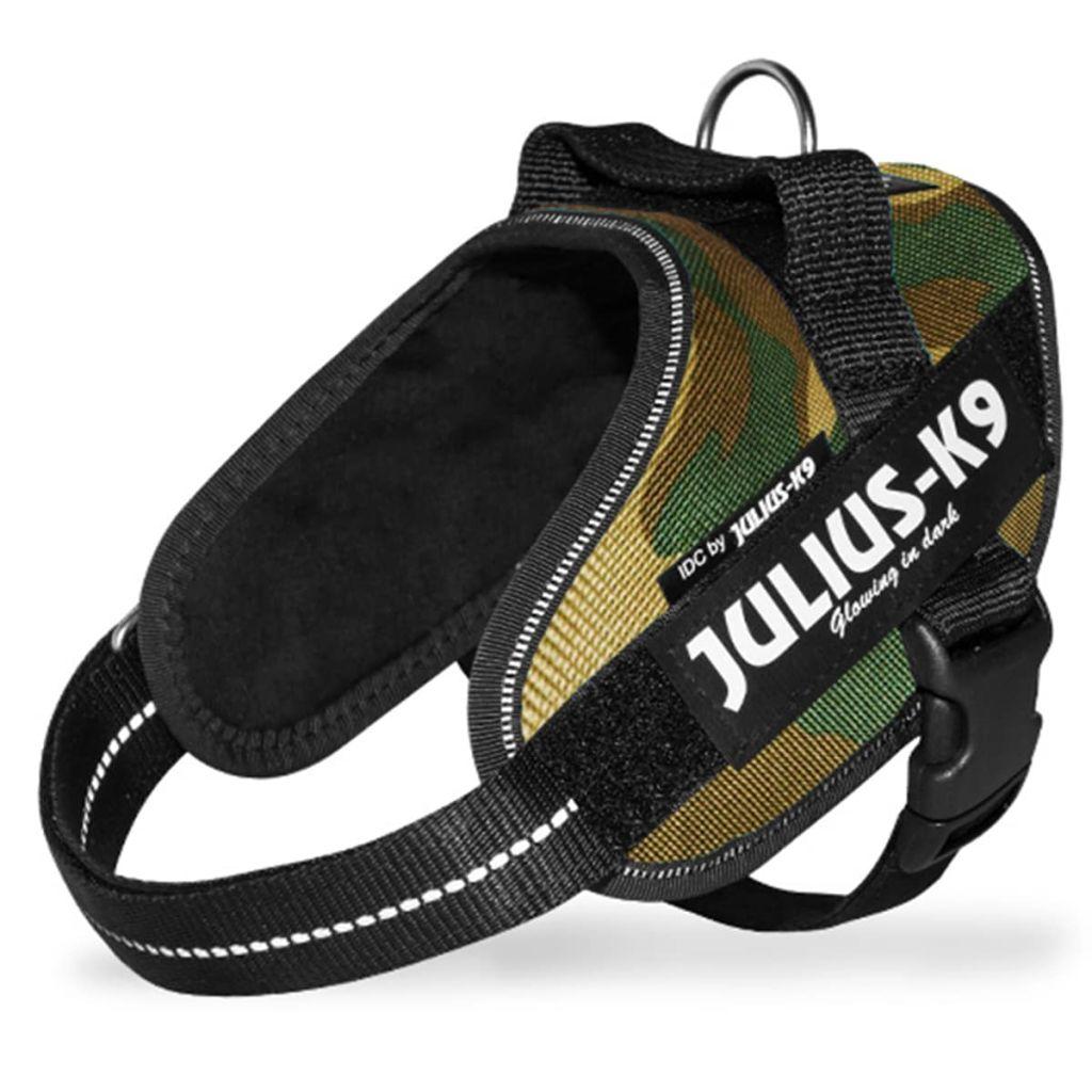 Julius K9 IDC Maskáčový Power postroj pre psy, mini, 16IDC-C-M
