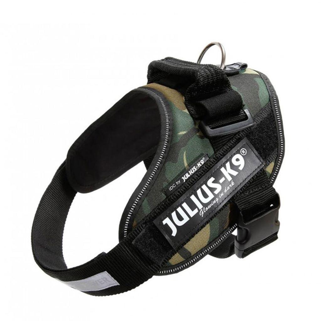Julius K9 IDC Maskáčový Power postroj pre psy, veľkosť 0, 16IDC-C-0