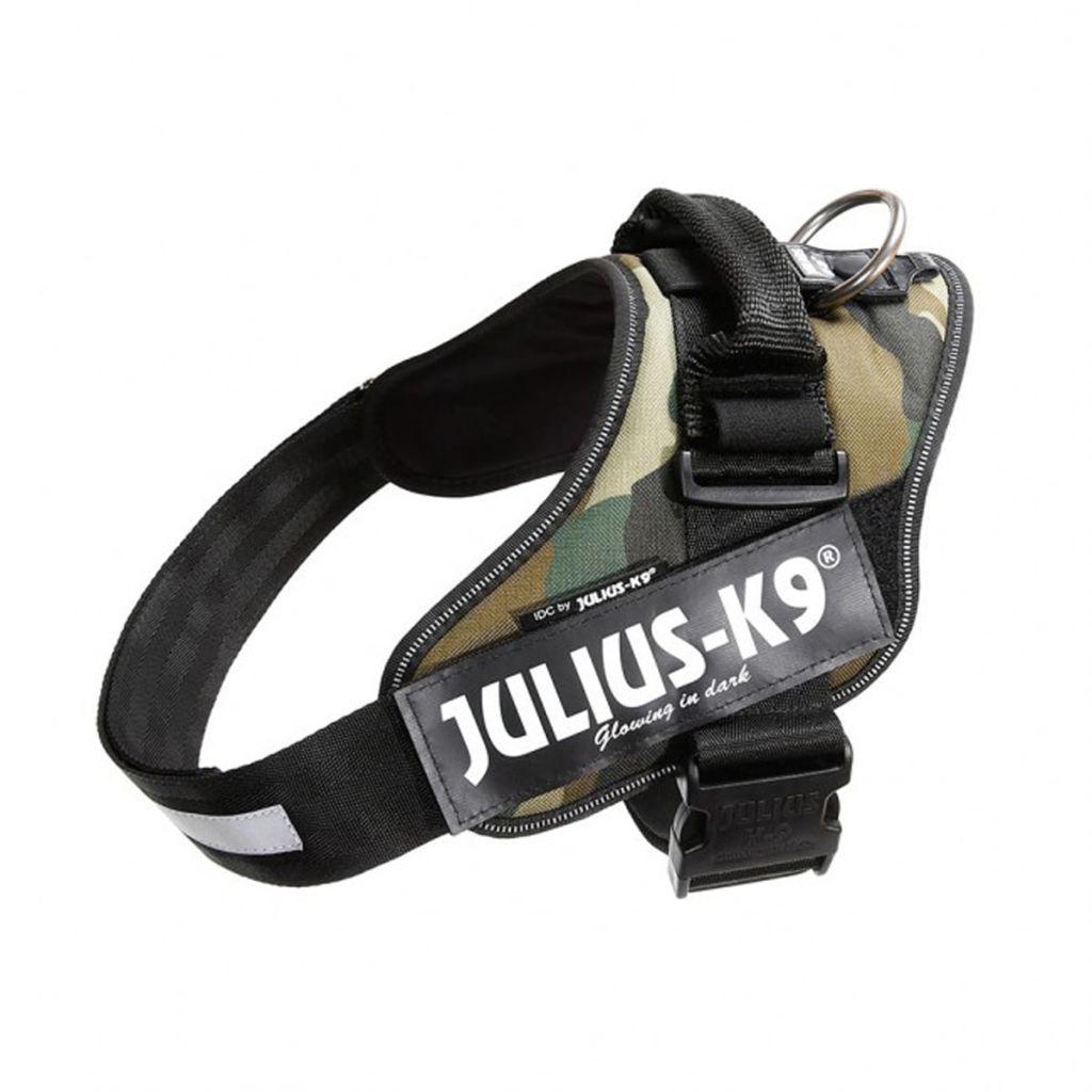 Julius K9 IDC Maskáčový Power postroj pre psy, veľkosť 1, 16IDC-C-1