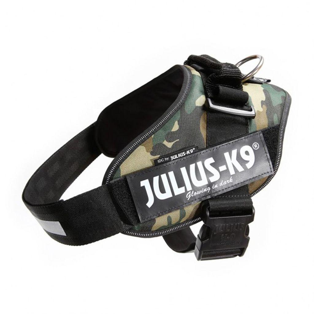 Julius K9 IDC Maskáčový Power postroj pre psy, veľkosť 2, 16IDC-C-2