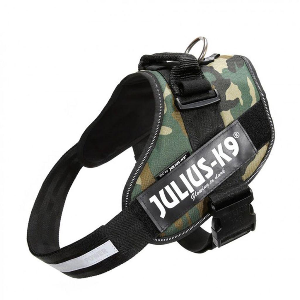 Julius K9 IDC Maskáčový Power postroj pre psy, veľkosť 3, 16IDC-C-3