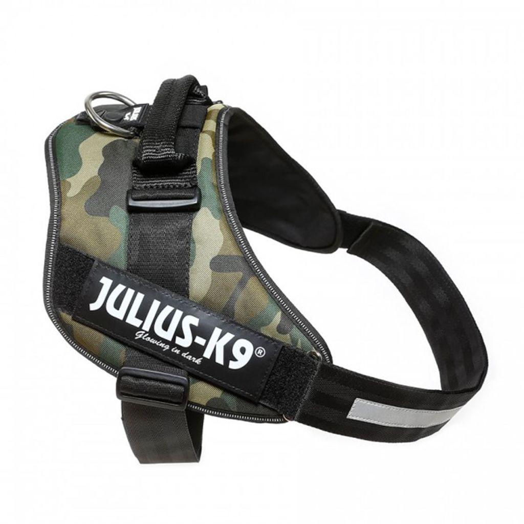 Julius K9 IDC Maskáčový Power postroj pre psy, veľkosť 4, 16IDC-C-4