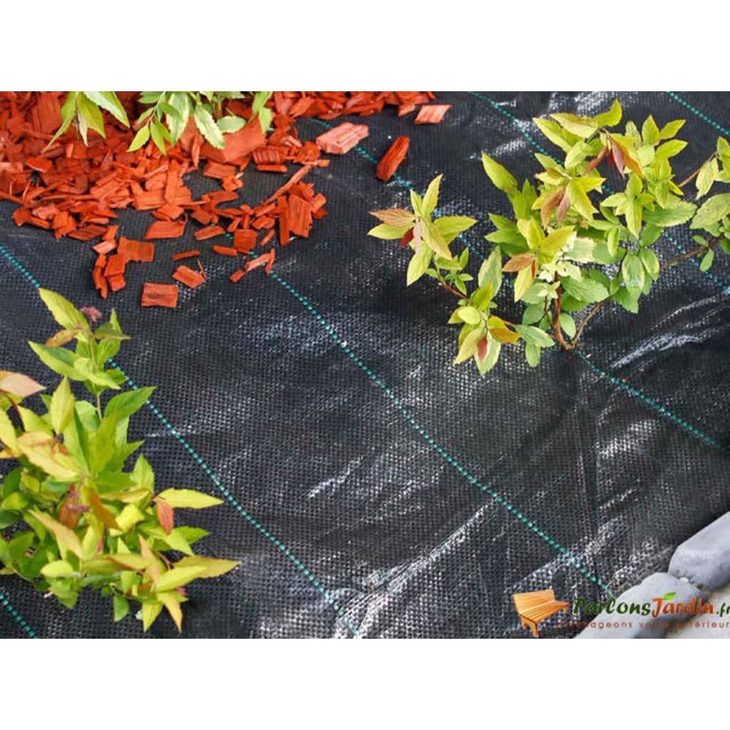 Nature Záhradná krycia plachta čierna 1 x 50 m