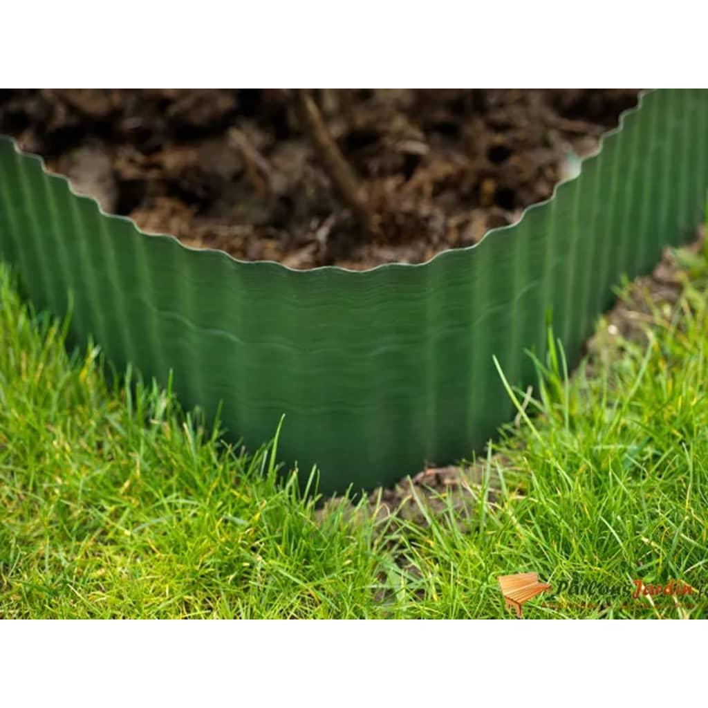 Nature Záhradný obrubník 0,25x9 m, zelený