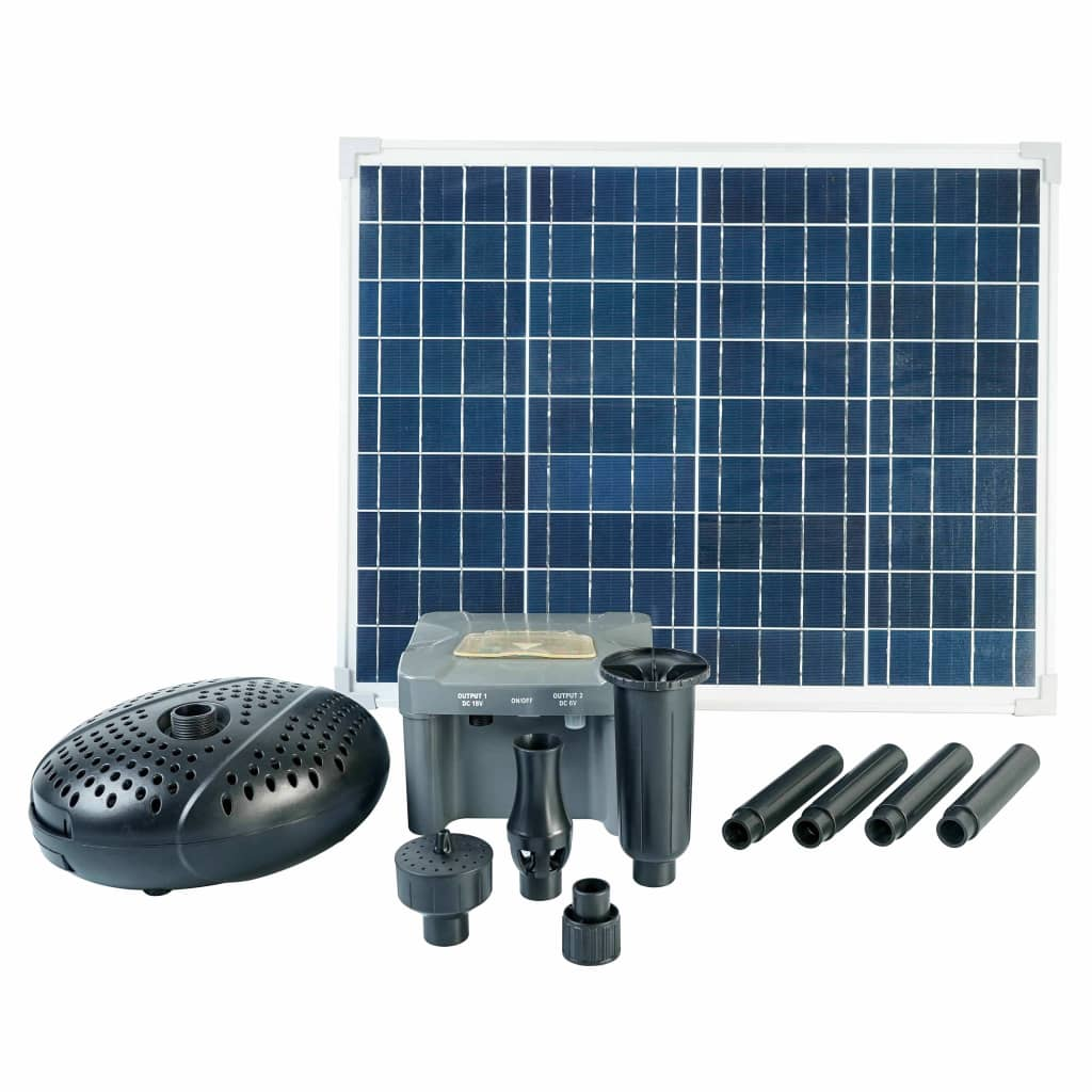 Ubbink SolarMax 2500 Sada so solárnym panelom, čerpadlom a batériou
