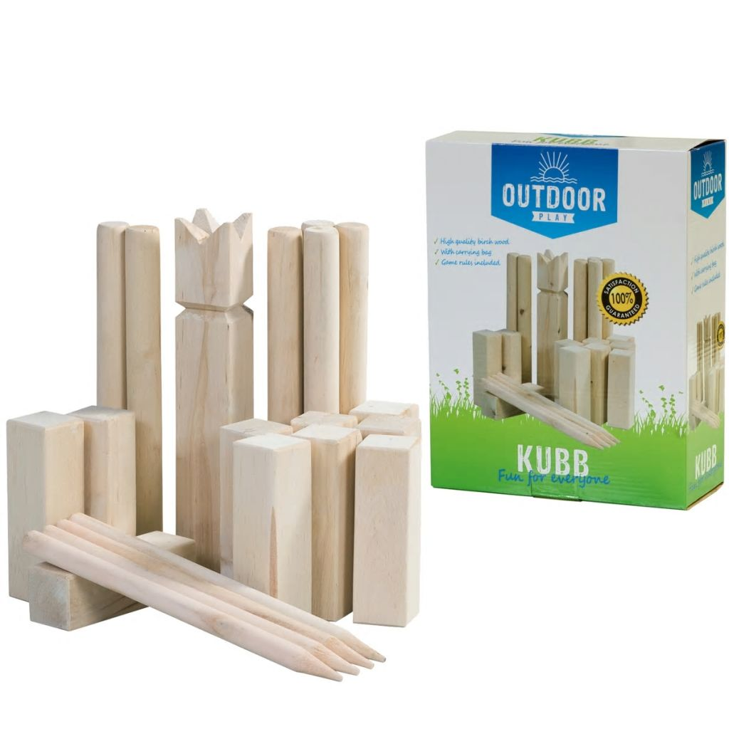 Outdoor Play hra Kubb