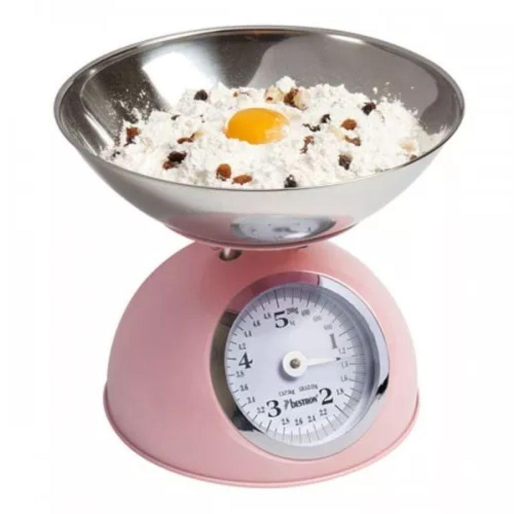 Kuchynská váha, ružová Bestron DKW700SD