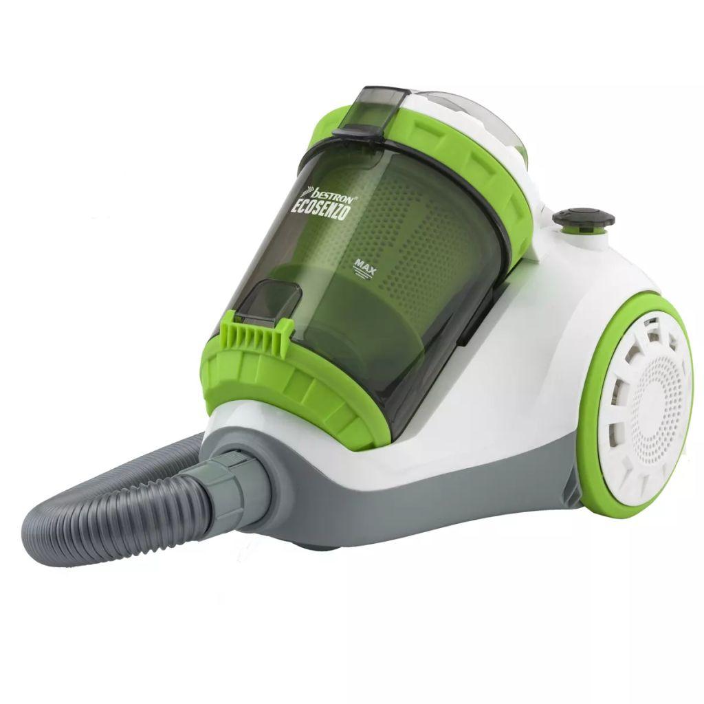 Vysávač bez vrecka bielo zelený Bestron Puro ABL900WGE