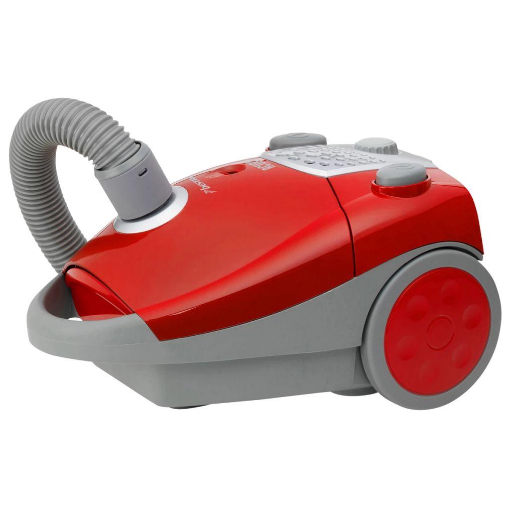 Vysávač červeno strieborný Bestron ABG250RSE