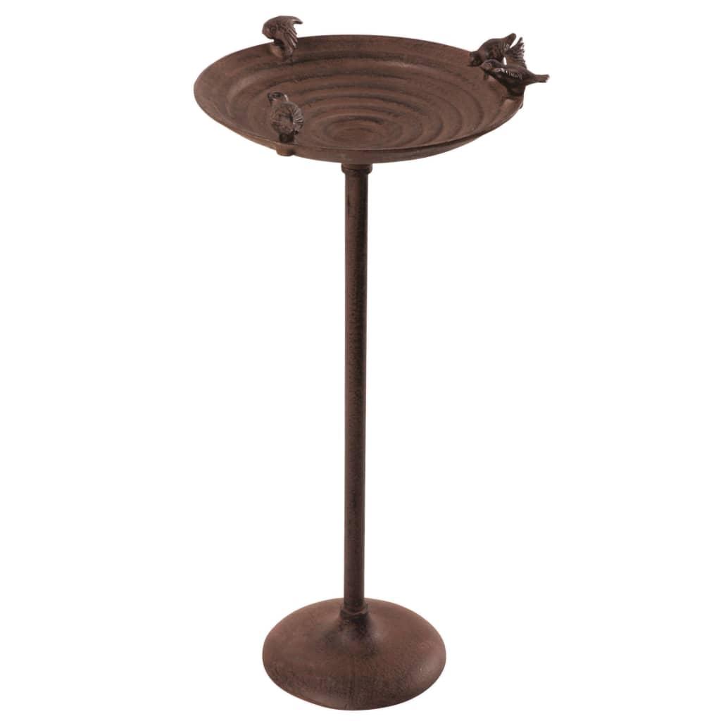 Esschert Design Vtáčí kúpeľ na tyči zliatina