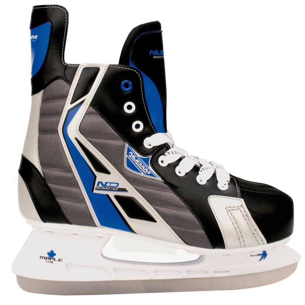 Nijdam Korčule na ľadový hokej, veľkosť 45, polyester, 3386-ZBZ-45