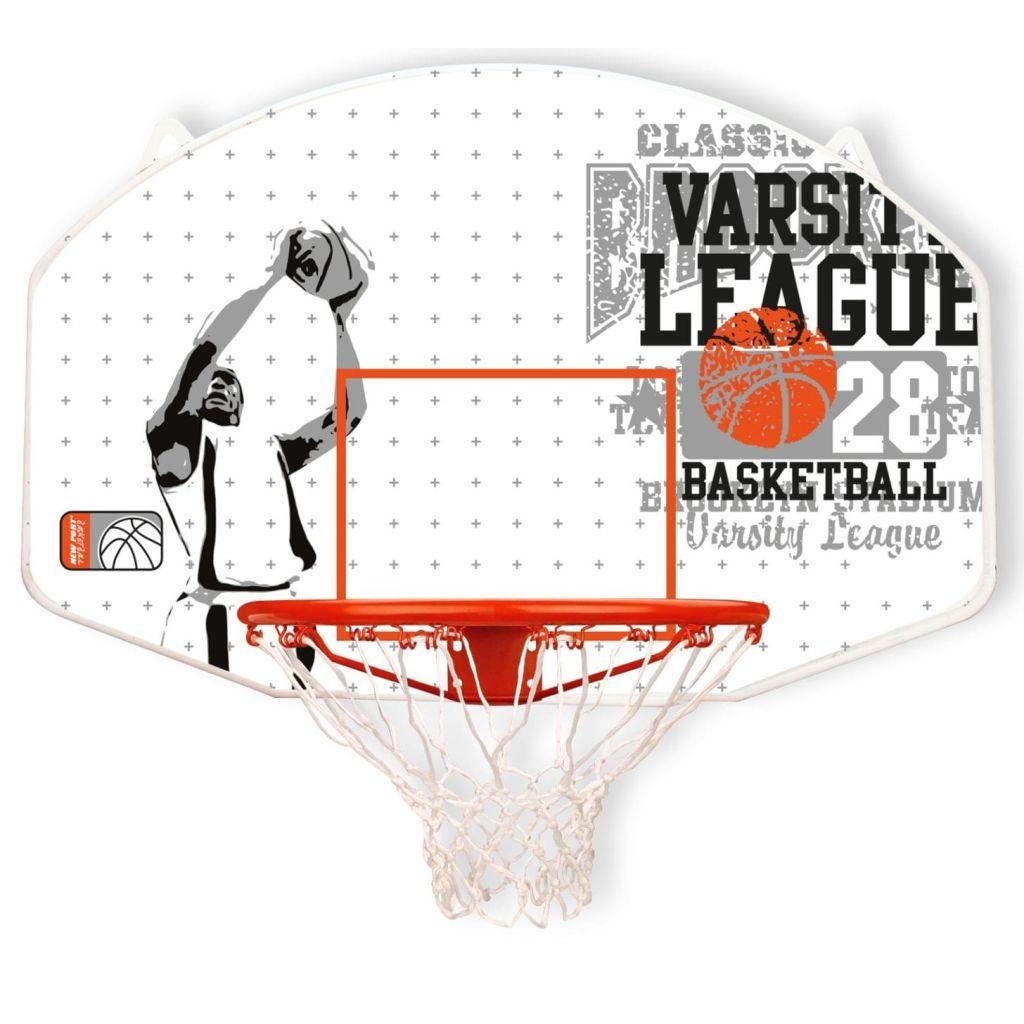 New Port Basketbalová doska s kruhom sklolaminát 16NY-WGO-Uni