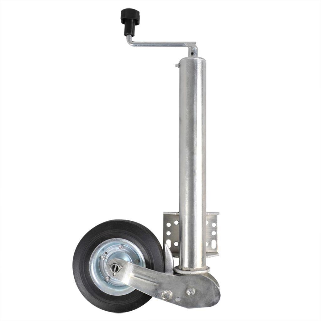 Oporné koleso 60 cm s pevnou gumenou pneumatikou 20 x 6 cm 341505