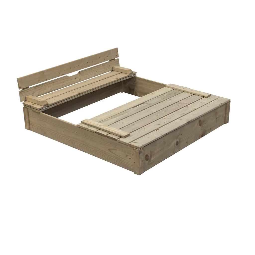 Swing King drevené impregnované pieskovisko Robert