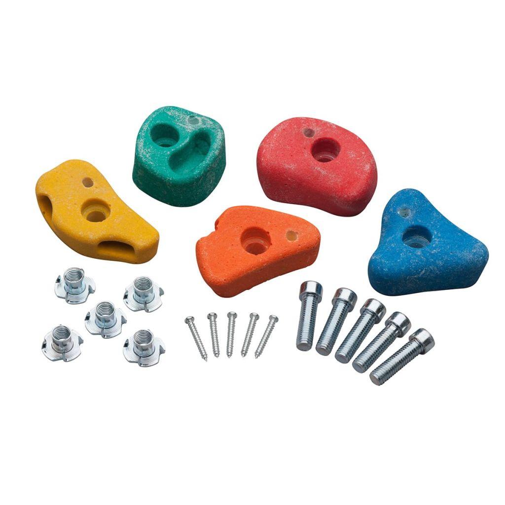 Swing King Lezecké kamene, 5 ks, malé, plastový kompozit, 2550045