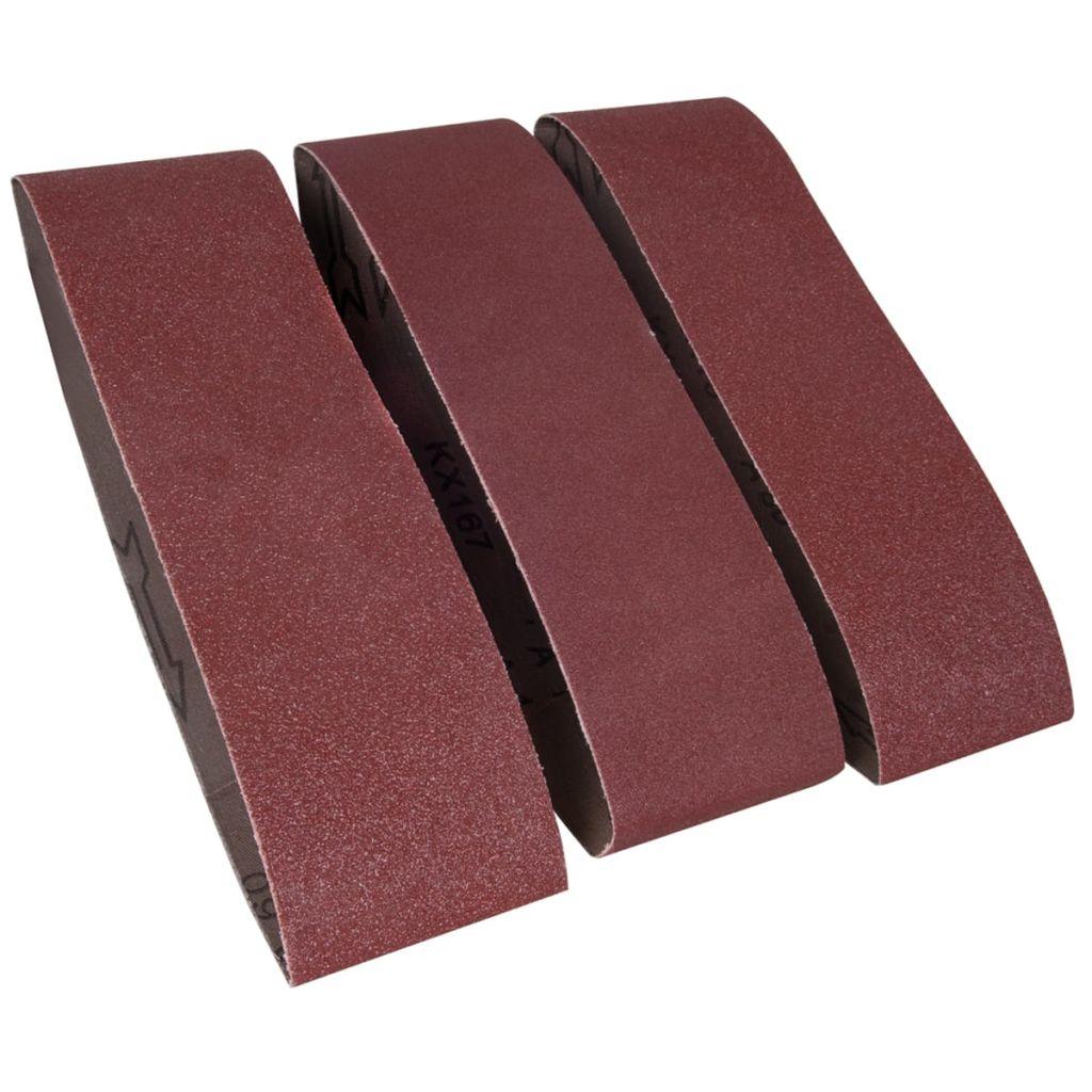 FERM Tri ks pieskového brúsneho papiera do leštičky BSA1013