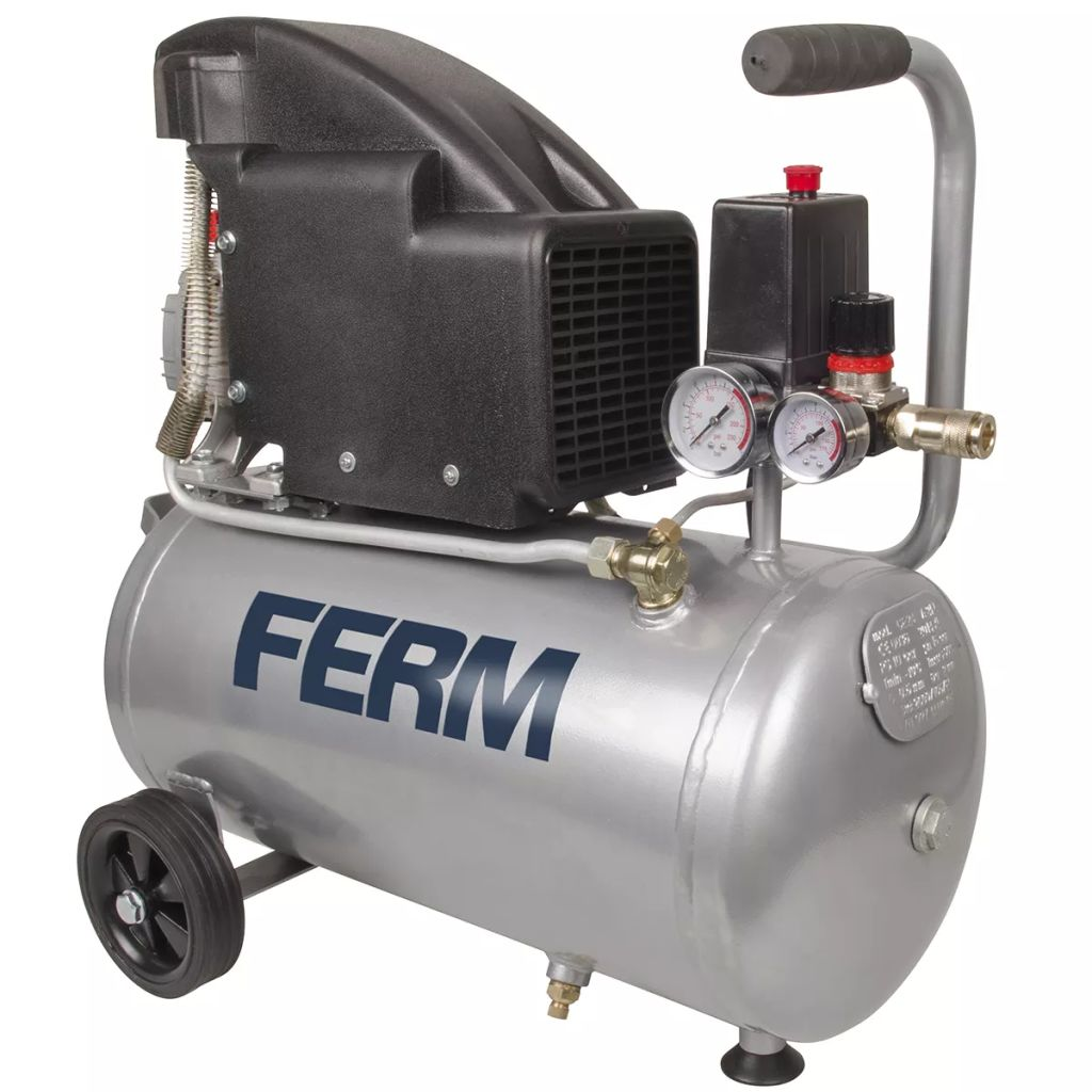 Kompresor FERM Power 1,5 HP 1100W 24 L
