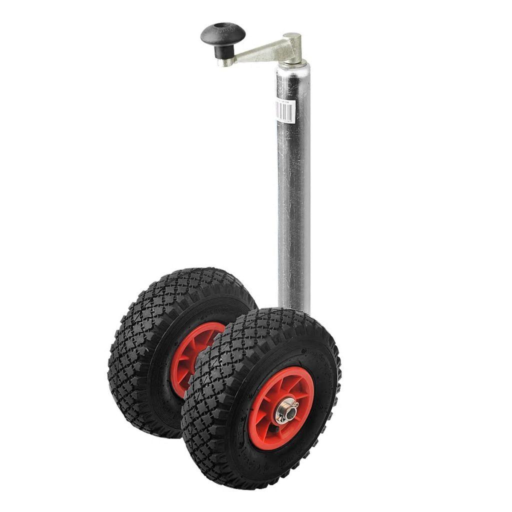 ProPlus dve oporné kolesá oja prívesu so vzduchom plnenými kolesami