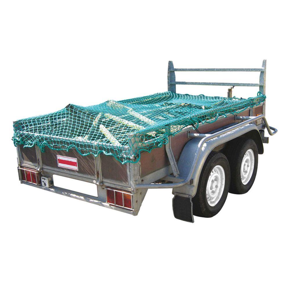 ProPlus Sieť na prívesný vozík s elastickou šnúrou, 2,50 x4,00 m