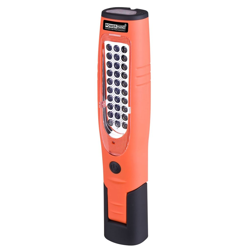 Powerhand Micro-USB nabíjateľné Li-ionové pracovné svetlo oranžové SIN-100,1026-O