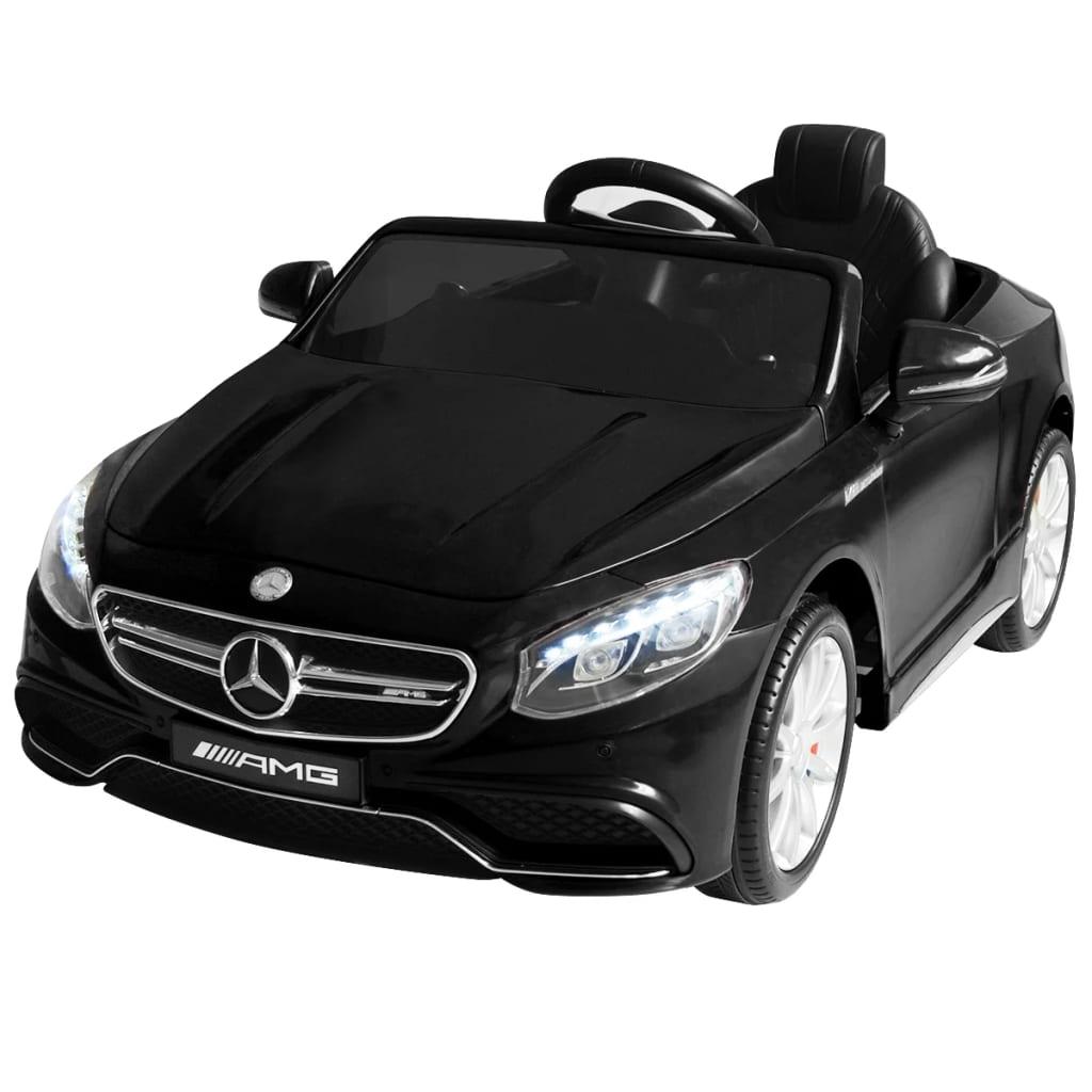 vidaXL Elektrické autíčko Mercedes Benz AMG S63, čierne 12 V