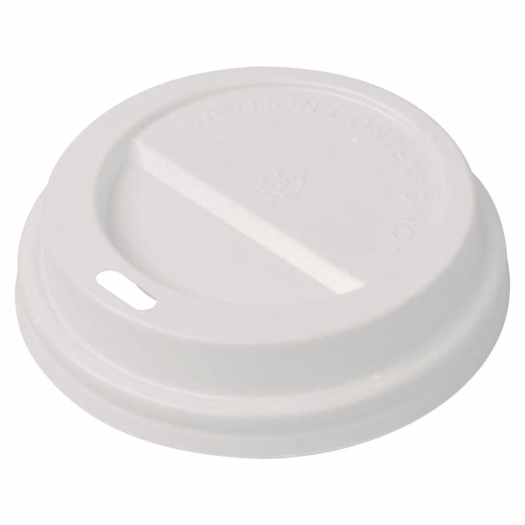 vidaXL Jednorazové viečka na kávu, 1000 ks, plastové, 80 mm
