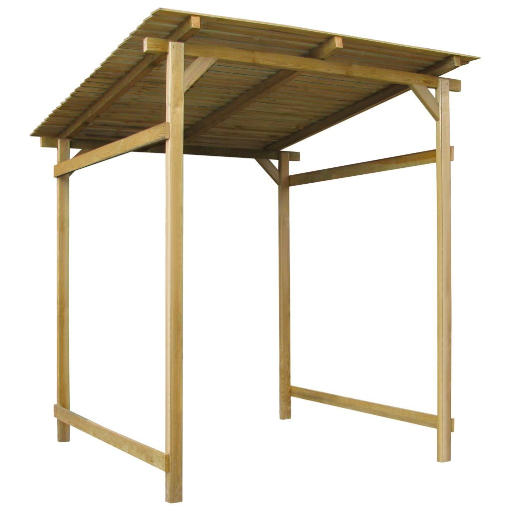 vidaXL Záhradný prístrešok, impregnované borovicové drevo, 170x200x200 cm