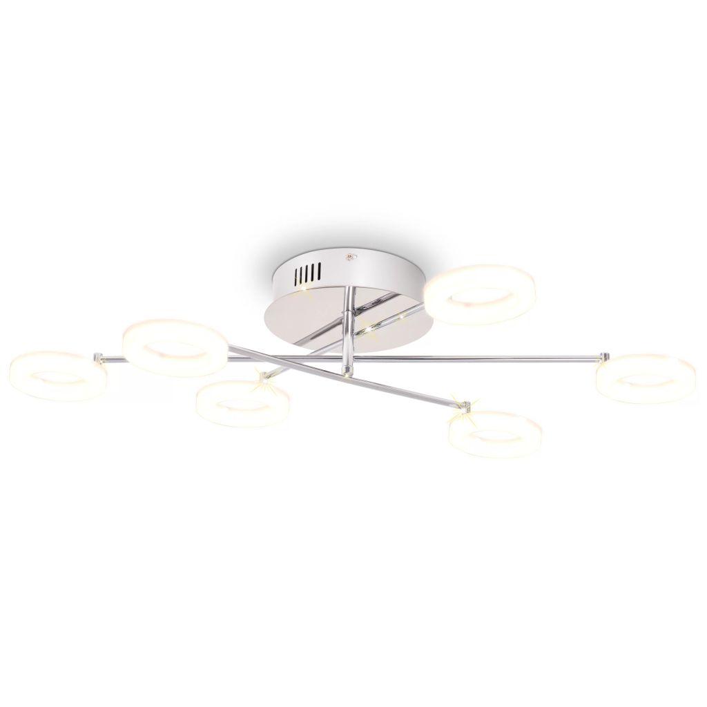 vidaXL Stropné svietidlo so 6 LED svetlami, teplé biele svetlo