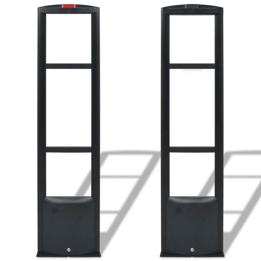 vidaXL Anténny systém RF s vysielačom a prijímačom 8,2 MHz, čierny