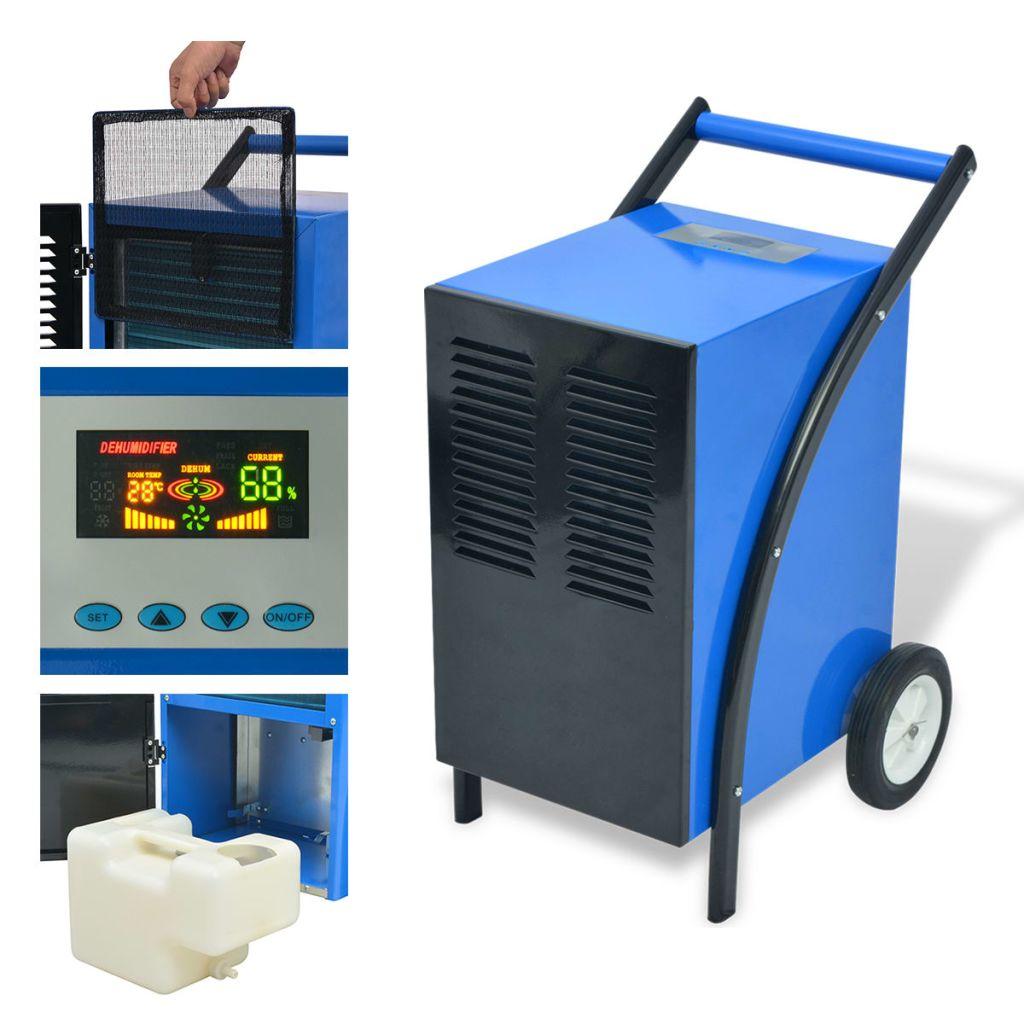 vidaXL Chladiaci kondenzačný sušič vzduchu, 50 l/24 h, 860 W