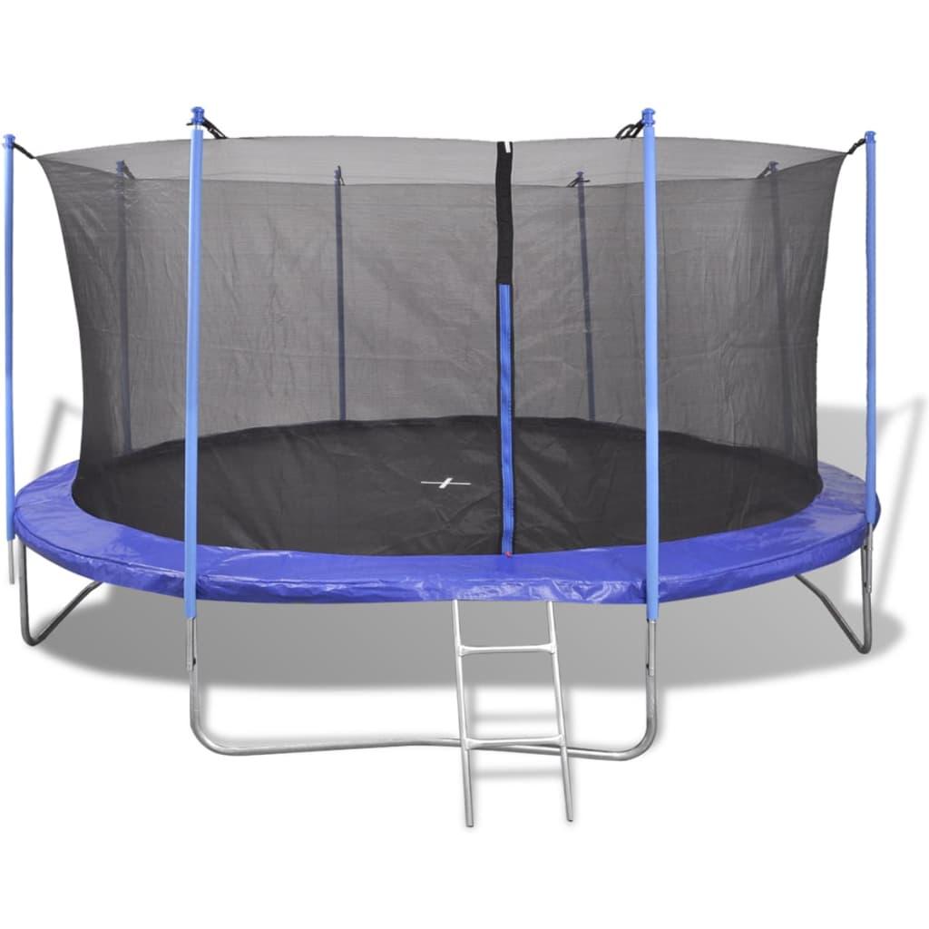 vidaXL 5-dielny trampolínový set, 4,57 m